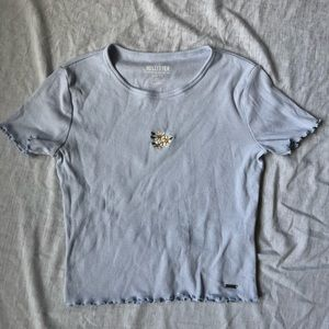 Hollister Ribbed Baby Tee